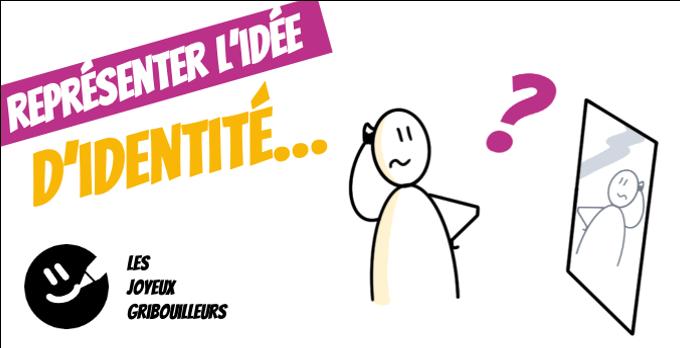Vignette de la vidéo vers le tuto sketchnote pour apprendre à représenter l'idée d'identité