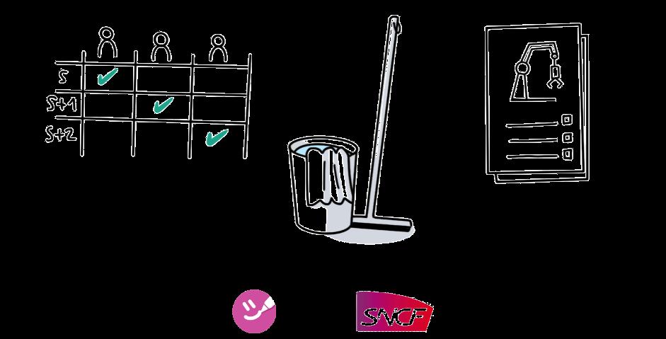 La phase «Nettoyer», 3ème étape du 5S, consiste à organiser le nettoyage de l'environnement de travail.